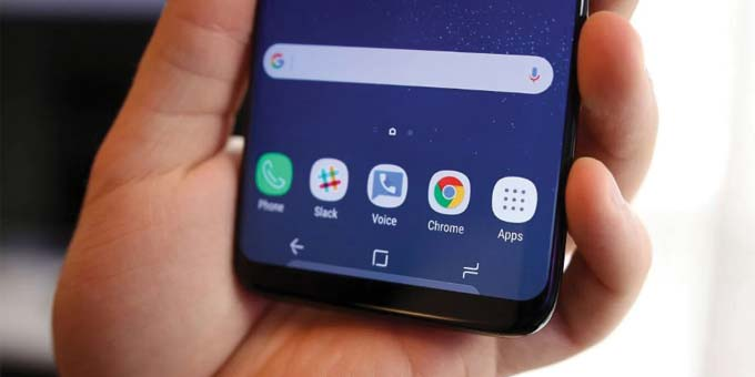 customize notifications menu bar on galaxy s8