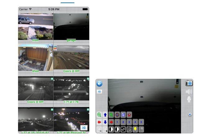 use iphone as an ip camera