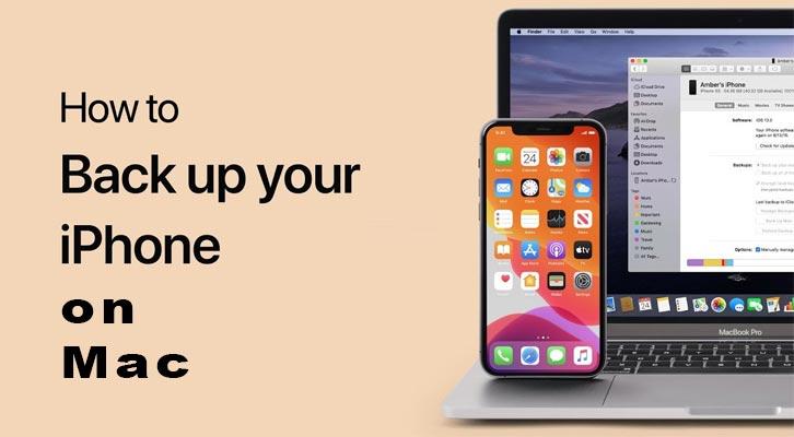 backup iphone on mac