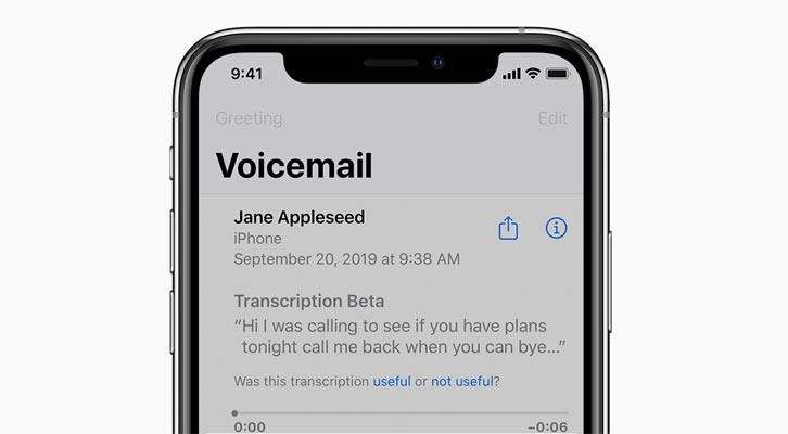 set up voicemail on iphone 11
